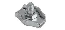 Зажим для стальных канатов одинарный (SIMPLEX)