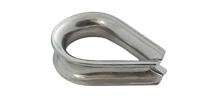 Коуш для стальных канатов, DIN 6899