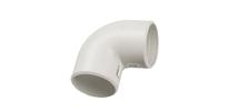 Уголок для соединения гофрированных и гладких электромонтажных пластиковых труб