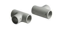Тройник для соединения гофрированных и гладких электромонтажных пластиковых труб