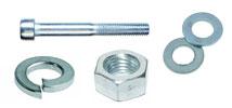 Комплект: Винт DIN912 + Шайба плоская DIN125А + Шайба гровер DIN127B + Гайка DIN934