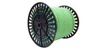 Шнур фаловый полипропиленовый (спир. плет., на ролике)