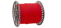 Шнур текстильный, полипропилен (цветной, на ролике)
