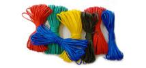 Шнур крученый из синт. волокон (в мотках, цветной)