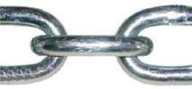 Цепь техническая DIN 5685/A оцинк.