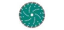 Универсальные алмазные отрезные диски TURBO CUT (3871) Нeller